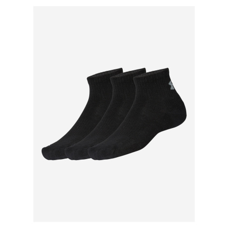 Ponožky Under Armour Training Cotton Qtr Čierna