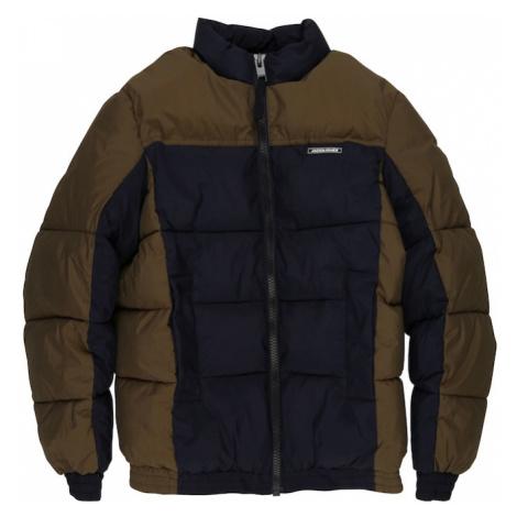 Jack & Jones Junior Zimná bunda 'Spector'  hnedá / námornícka modrá