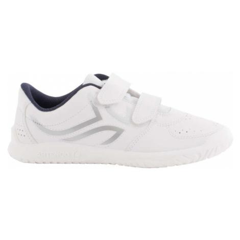 ARTENGO Detská tenisová obuv TS100 Grip bielo-modrá BIELA 39