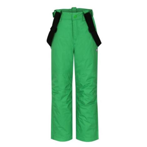 Loap FUGO zelená - Detské lyžiarske nohavice