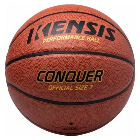 Kensis CONQUER7 hnedá - Basketbalová lopta