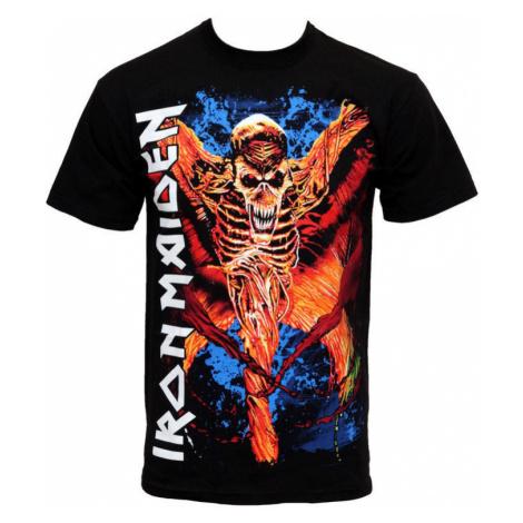 Tričko metal ROCK OFF Iron Maiden Vampyr Čierna