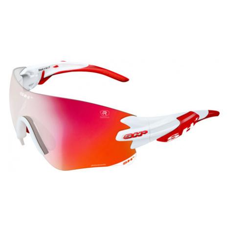 Cyklistické Okuliare Sh+ Rg 5200 Reactive Flash Bielo-Červené