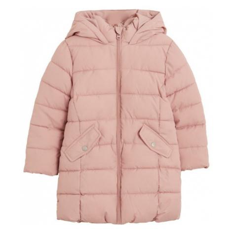 MANGO KIDS Prechodná bunda  ružová