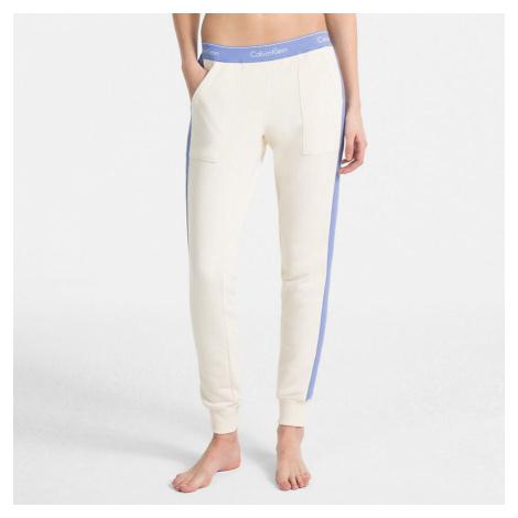 Bielo-modré tepláky Modern Cotton Jogger W/Rib Calvin Klein