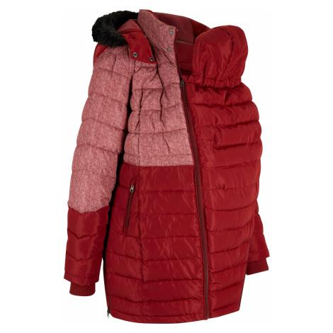 Materský zimný kabát/kabát na nosenie detí, s potlačou bonprix