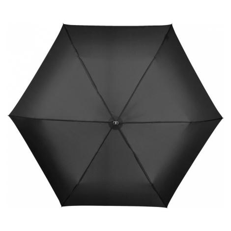 Samsonite Skladací dáždnik s púzdrom Rain Pro Manual Flat - černá