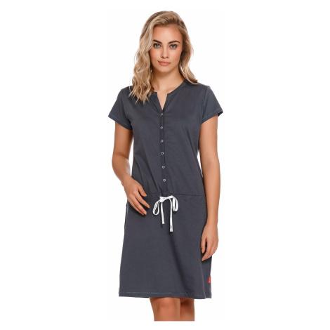 Materská košielka DN Nightwear TM 4229 Tmavosivá