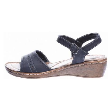 Avenue GETTERON čierna - Dámske sandále