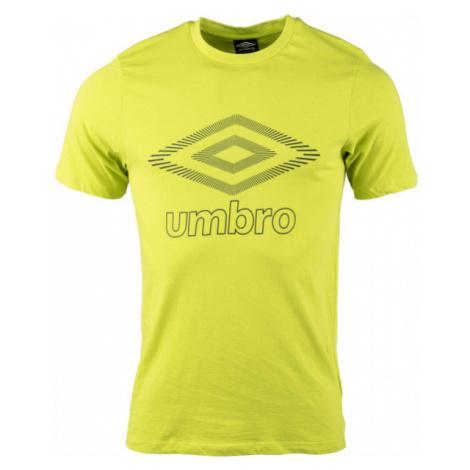 Umbro FW CLASSICO GRAPHIC TEE zelená - Pánske tričko