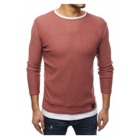 Atraktívny ružový sveter DStreet