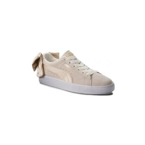 Puma Sneakersy Suede Bow Varsity Wn's 367732 03 Béžová