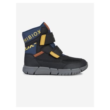 Topánky Geox J Flexyper Boy B Abx Čierna