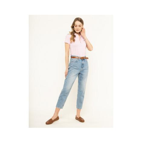 Polo Ralph Lauren Polokošeľa Julie 211505654112 Ružová Slim Fit