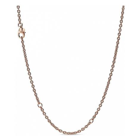 Pandora Elegantný bronzový retiazka Rose 388574C00-60
