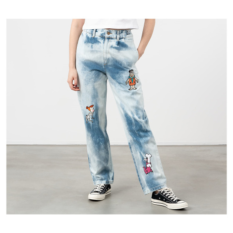 Lazy OAF x The Flinstones Bedrock Jeans Multicolor