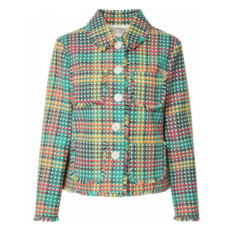 L.K.Bennett Prechodná bunda 'BONNIE'  zelená / žltá / červená