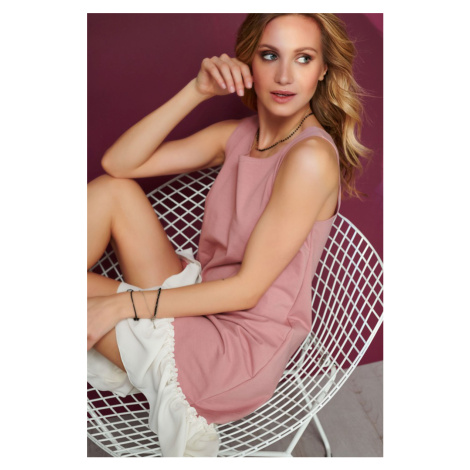 Ružové šaty M561 Makadamia