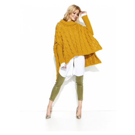 Makadamia Woman's Sweater MAKs71 Mustard