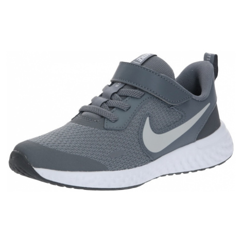 Nike Sportswear Tenisky 'NIKE REVOLUTION 5 (PSV)'  sivá / tmavosivá