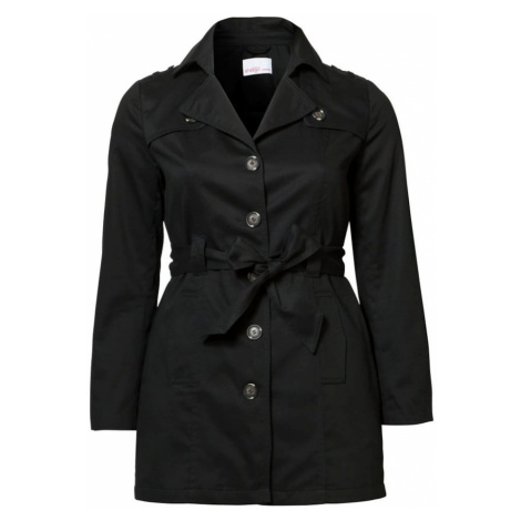 SHEEGO Prechodný kabát  čierna