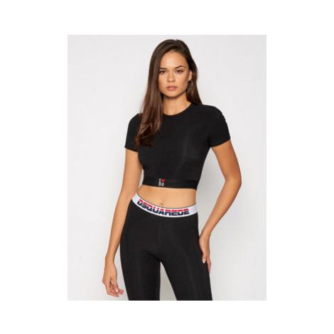 Dsquared2 Underwear Tričko D8M263220 Čierna Regular Fit