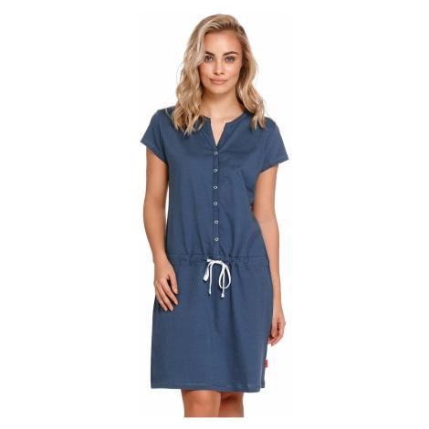 Materská košielka DN Nightwear TM 4229 Tmavomodrá