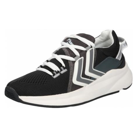 Hummel Športová obuv  čierna / biela