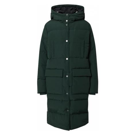 SELECTED FEMME Zimný kabát  tmavozelená