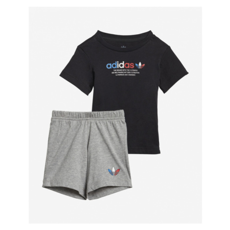 adidas Originals Adicolor Set detský Čierna Šedá
