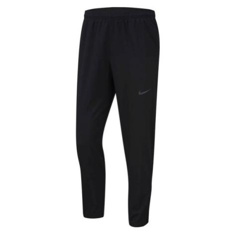 Nike RUN STRIPE WOVEN PANT M čierna - Pánske bežecké nohavice