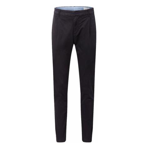 TOM TAILOR DENIM Chino nohavice  čierna