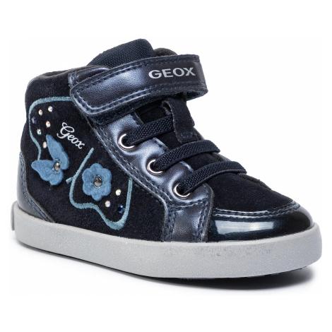 Sneakersy GEOX - B Kilwi G. A B94D5A 022HI C4021 M  Dk Navy