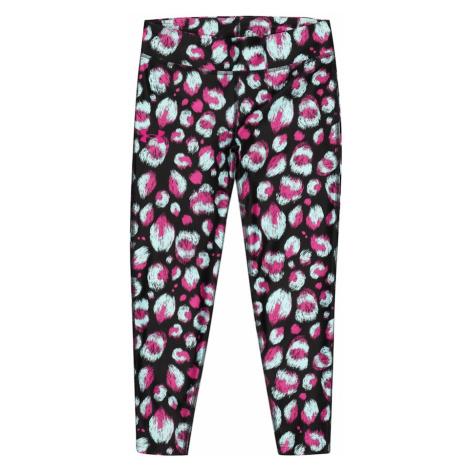 UNDER ARMOUR Športové nohavice  čierna / ružová / svetlomodrá