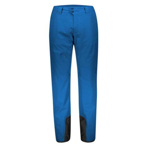 Scott ULTIMATE DRYO 10 modrá - Pánske lyžiarske nohavice