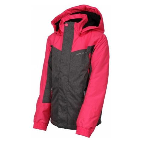 ALPINE PRO PREO 2 šedá - Detská zimná bunda