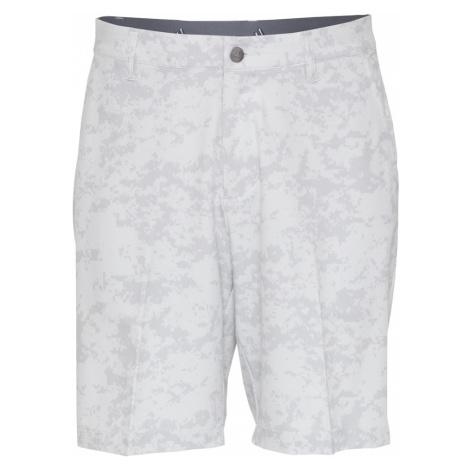 adidas Golf Športové nohavice  sivá / biela