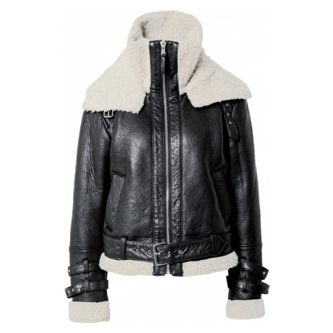BE EDGY Zimná bunda  biela / čierna