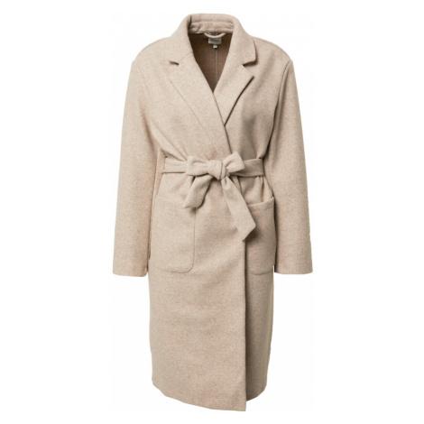 ONLY Prechodný kabát  béžová melírovaná