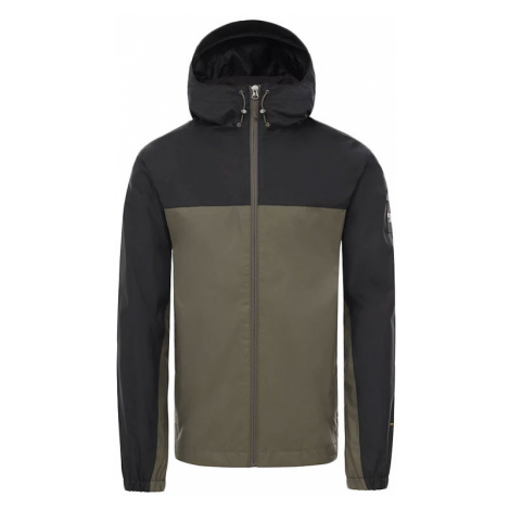 The North Face M Mountain Q Jacket - Eu New Taupe Green/Tnf Black-XL zelené NF00CR3QBQW-XL