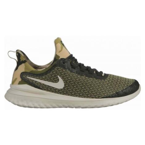 Nike RENEW RIVAL CAMO zelená - Pánska bežecká obuv