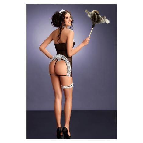 Čierny sexi kostým Flavia Me Seduce