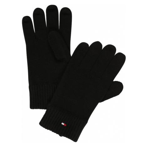 TOMMY HILFIGER Prstové rukavice  čierna