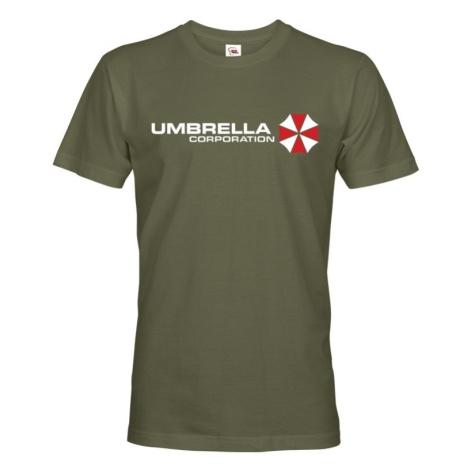 Pánske tričko Umbrella Corporation - tričko zo série Resident Evil
