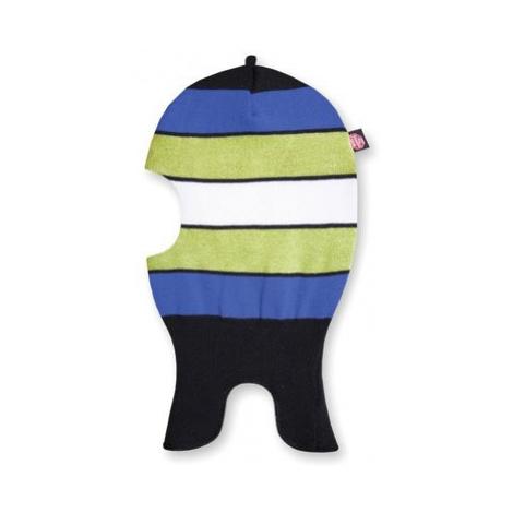 Detské pletená kukla Kama DB19 110 čierna