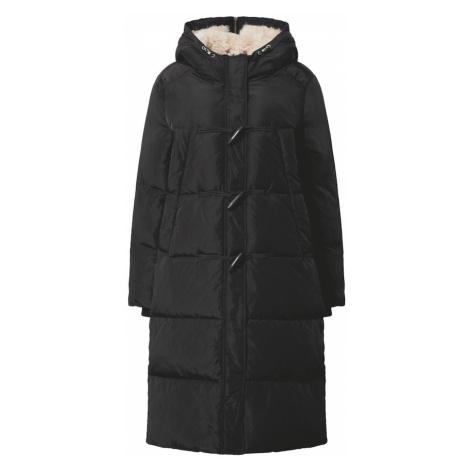 s.Oliver Zimný kabát  čierna