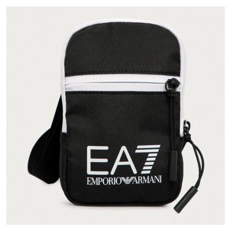 Taška cez plece EA7 EMPORIO ARMANI Black