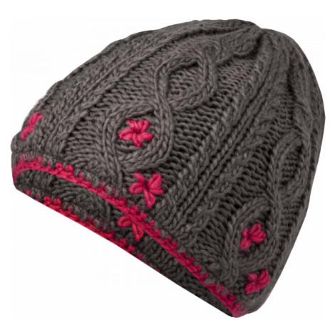Lewro CARBINK šedá - Dievčenská pletená čiapka