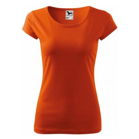 Dámske tričko s veľmi krátkym rukávom, oranžová