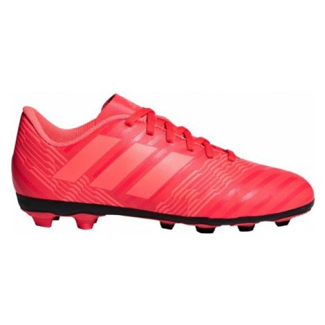 adidas NEMEZIZ 17.4 FxG J červená - Detská futbalová obuv